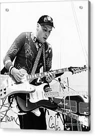 Acrylic Print featuring the photograph Rick Neilsen Of Cheap Trick 1980 by Chris Walter