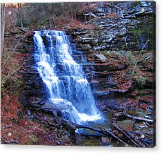 Ricketts Glen Waterfall 3941  Acrylic Print