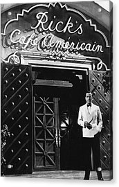 Ricks Cafe Americain Casablanca 1942 Acrylic Print