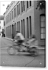 Rickshaw Speed Acrylic Print by Dustin K Ryan