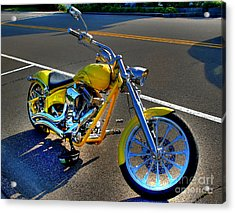 Ride Hard... Acrylic Print by Adrian LaRoque