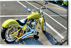 Ride Hard II Acrylic Print