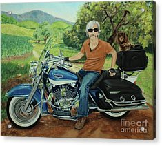 Ride In The Birksire's Acrylic Print