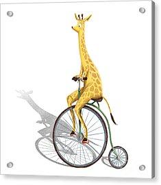 Ride My Bike Acrylic Print