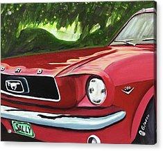 Ride Sally Ride Acrylic Print by Dean Glorso