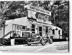 Ride To Rabbit Hash Bw Acrylic Print