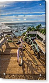 Ride With Me To The Beach Acrylic Print