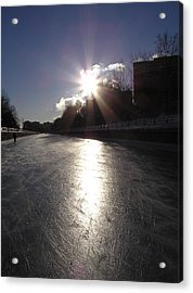 Rideau Canal At Sunrise Acrylic Print by Richard Mitchell