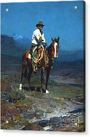 Rider Of The Sms Acrylic Print