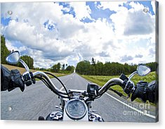 Riders Eye View Acrylic Print