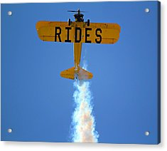 Rides Acrylic Print