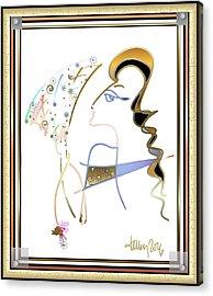 Ridicule - Madame De Blayac Acrylic Print