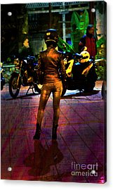 Acrylic Print featuring the photograph Riding Companion II by Al Bourassa