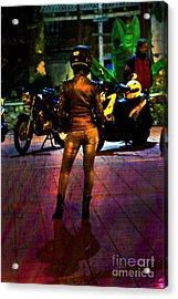 Riding Companion II Acrylic Print by Al Bourassa