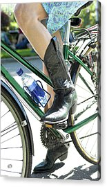 Riding In Style Acrylic Print