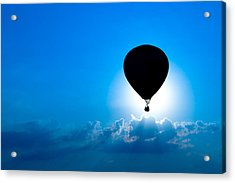Riding The Clouds Acrylic Print by Todd Klassy