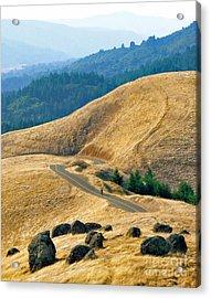 Riding The Mountain Acrylic Print