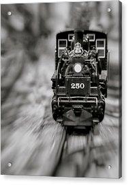 Riding The Railways Acrylic Print