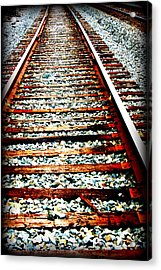 Right Side Of The Tracks Acrylic Print by Devon Stewart