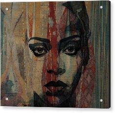Rihanna - Diamonds Acrylic Print