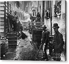 Riis: Bandits Roost, 1887 Acrylic Print