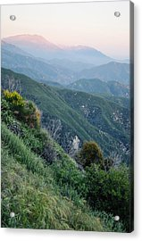 Acrylic Print featuring the photograph Rim O' The World National Scenic Byway II by Kyle Hanson