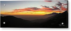 Rim Of The World Acrylic Print