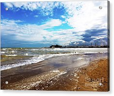 Rimini After The Storm Acrylic Print