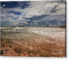 Rimini Storm Acrylic Print