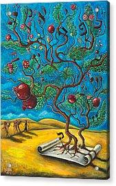 Rimon Ben Torah Acrylic Print