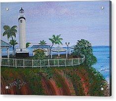 Rincon's Lighthouse Acrylic Print