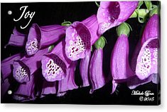Ring My Bell With Joy Acrylic Print
