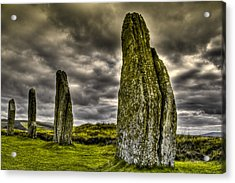 Ring Of Brodgar Orkney Acrylic Print by Gabor Pozsgai
