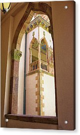 Ringling Window Acrylic Print