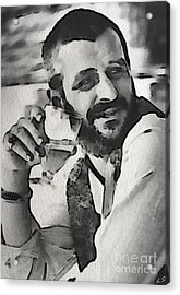 Ringo Acrylic Print by Sergey Lukashin