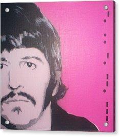Ringo Starr Acrylic Print by Gary Hogben
