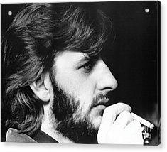 Ringo Starr In 1972 Acrylic Print by Chris Walter