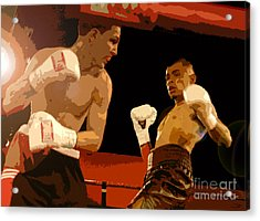 Ringside Acrylic Print by David Lee Thompson