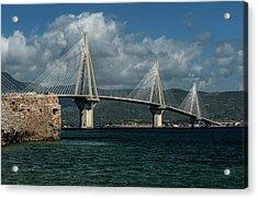 Rio-andirio Hanging Bridge Acrylic Print