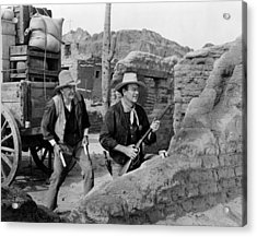 Rio Bravo, Walter Brennan, John Wayne Acrylic Print by Everett