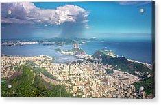 Rio De Janeiro Acrylic Print by Andrew Matwijec