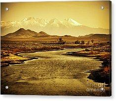 Rio Grande Colorado Acrylic Print