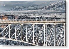 Rio Grande Gorge Bridge #001 Acrylic Print