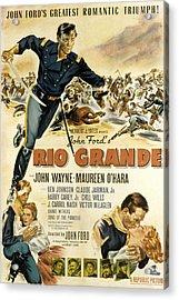 Rio Grande, John Wayne, Claude Jarman Acrylic Print by Everett