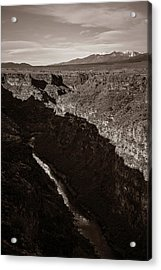 Acrylic Print featuring the photograph Rio Grande River Taos by Marilyn Hunt