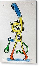 Rio Olympics Mascot Acrylic Print