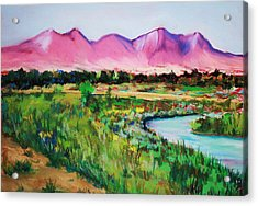 Rio On Country Club Acrylic Print