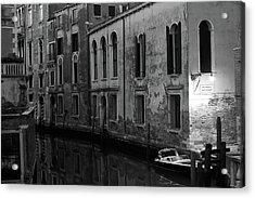 Rio Terra Dei Nomboli, Venice, Italy Acrylic Print