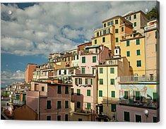 Riomaggiore 2 Acrylic Print by Art Ferrier