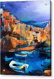 Riomaggiore - Cinque Terre Acrylic Print